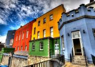 Colorful Houses in Dublin