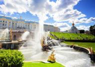Grand Cascade in St. Petersburg