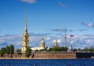 St. Peter and Paul Fortres in St. Petersburg