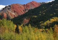 Red Mountain, seen from Red Mountain Pass