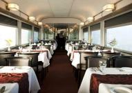 Dining Car on The Canadian